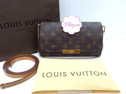 Authentic Louis Vuitton Monogram Canvas Favourite PM M40717 {{Only For Sale}} ** No Trade ** {{Fixed Price Non-Neg}} ** 定价 **
