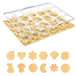 Model: CC028 Plastic Cookie Cutting Sheet Sales
