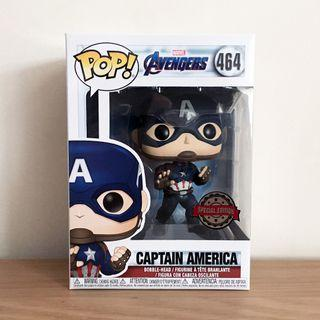 Funko Pop Captain America Special Edition (Avengers Endgame)