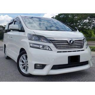 MPV car rental❗🚗 - TOYOTA ALPHARD / VELLFIRE For Rent Cheapest in Town
