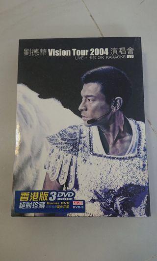 Andy 劉德華 2004 演唱會 3DVD