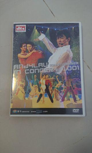 Andy 劉德華 2001 演唱會 DVD