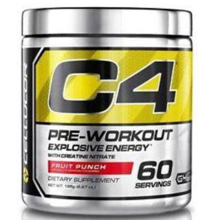 60 Servings, Cellucor, C4 Explosive Energy (with Creatine Nitrate), Pre-Workout
