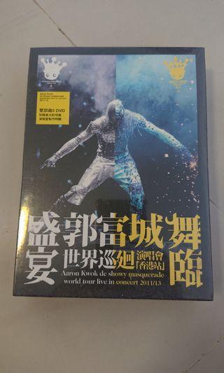 Aaron 郭富城 舞臨盛宴 11/13 全新 DVD