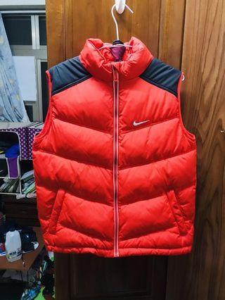 🚚 Nike 羽絨背心 L號 防風 保暖