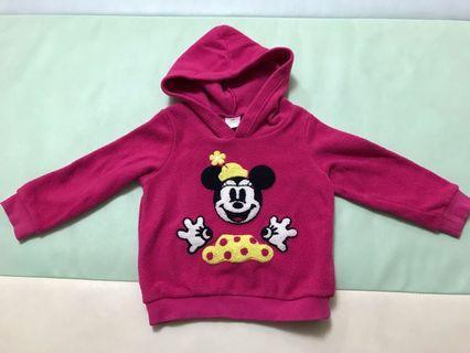 正版Disney Baby Minnie 米奇衛衣 (90碼)