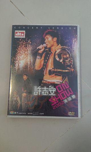 Andy 許志安 In Show 2002 演唱會 DVD