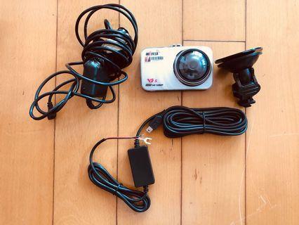 1080行車記錄儀 車cam 連座