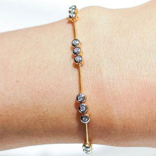 Triple Circle Tennis Bracelet