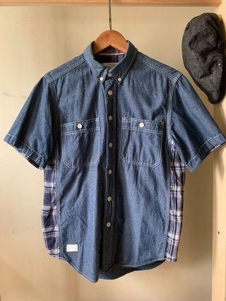:CHOCOOLATE short sleeve shirt / L size / Blue