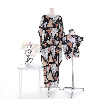 Kaftan size s m l XL couple anak dan mom
