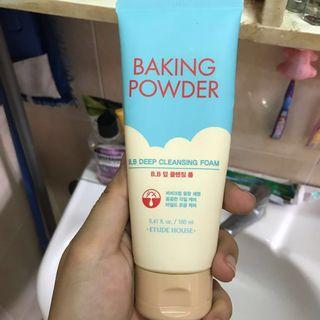 Etude House Baking Powder deep cleansing foam