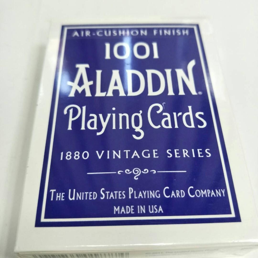 1001 ALADDIN PLAYING CARD 1880 VINTAGE SERIES
