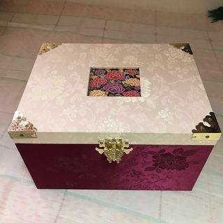 Jewellery Box(~25.5x 15.5x15cm)