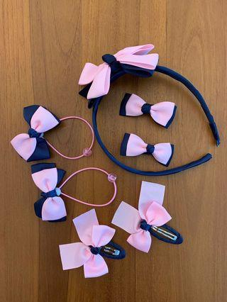 🚚 Cute girl hair accessories set