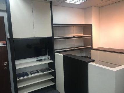Commercial Front desk and Cabinet