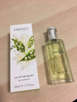 Yardley London lily eau de toulette
