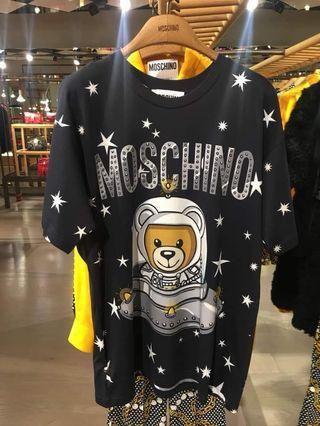 Moschino 太空🐻 tee oversize SALES