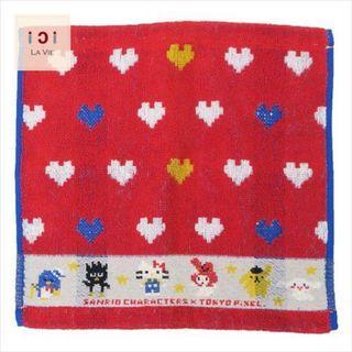 Sanrio Heart Pixel 毛巾(3款尺寸可選)