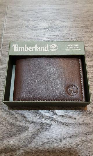 Timberland men's Blix Leather Wallet, Dark Brown