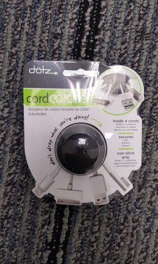Cord Catcher for Workspaces and Desks - Dotz Cord Catcher