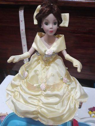 "REPRICED Disney 9"" Belle Porcellain Dolls"