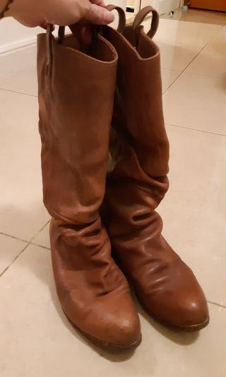 Japan made Leather Boots