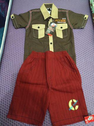 NEW! Setelan Baju Anak
