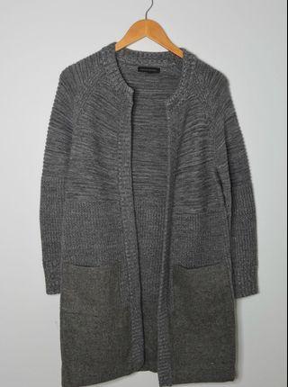 Banana Republic Grey Wool Cardigan