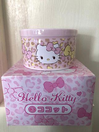 hello kitty 一番賞布丁碗