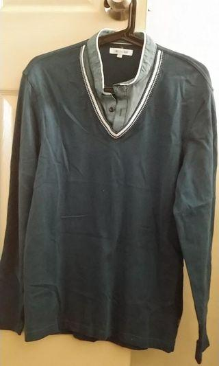 G2000 2-in-1 shirt/sweater