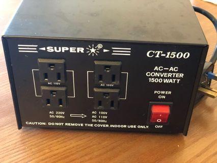 Super CT-1500 Recolte 窩夫機