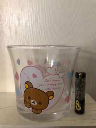 鬆弛熊 一番賞 玻璃杯一對