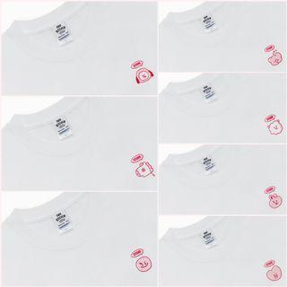 BT21 Sticker Collection Thank You Short Sleeved Shirt
