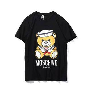 Moschino Outlet 水手🐻Tee 黑色