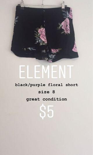 element floral short