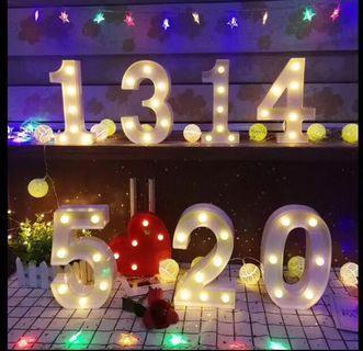 LED字母燈