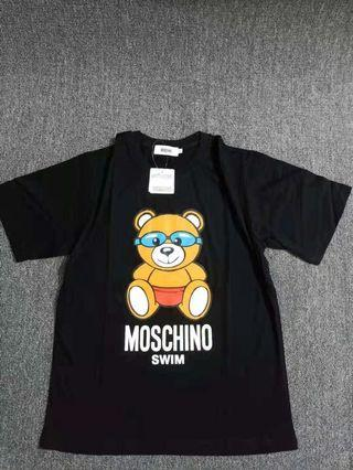 Moschino Outlet 潛水🐻Tee 黑色 白色