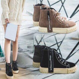Korean High Cut Boots