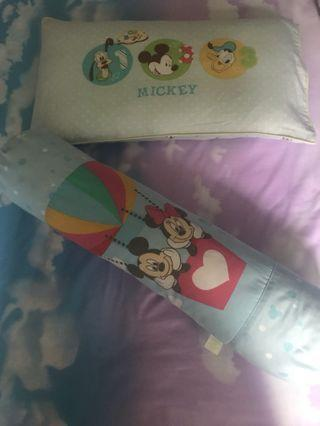 🚚 Mickey Mouse Pillow & Bolster