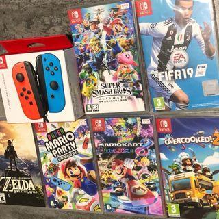 🚚 Brand New Nintendo Switch Games sale!