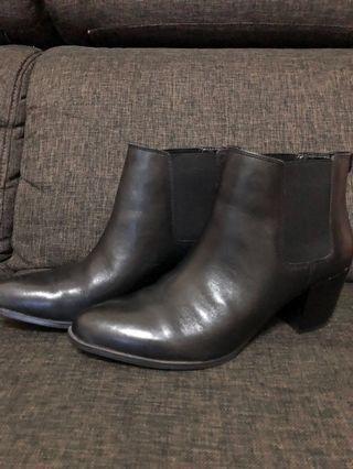 Anne Klein Leather Boots