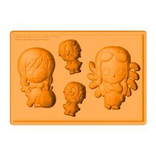Kotobukiya One Piece Silicon Ice Tray - Nami & Robin @ 35% off