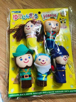 日本帶回來的 手指娃娃