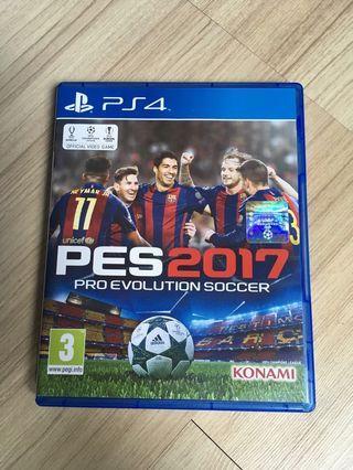 PES 2017 PS4 Games