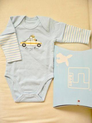 🚚 Baby Boy Rompers (New)