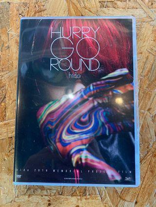 HIDE Hurry Go Round DVD 初回B盤 九成新 CL008