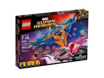全新Lego 76081 靚盒 已絕版