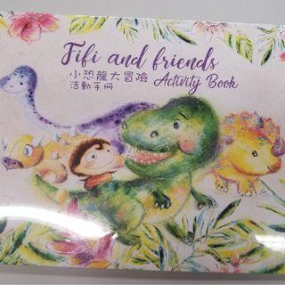 《Fifi and Friends Activity Book 小恐龍大冒險活動手冊 + 《Smile with Fifi! 與Fifi一起微笑!》童話繪本