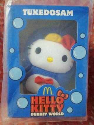 McDonald's Hello Kitty Bubby World TUXEDOSAM